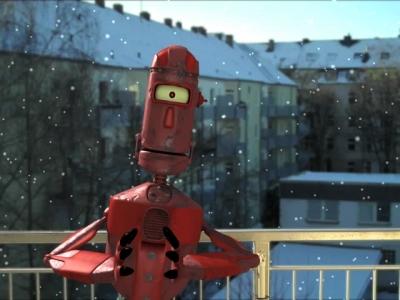 """Kurzfilm """"Dancing Robot"""""""