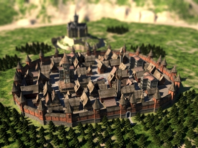 Stadt im Mittelalter