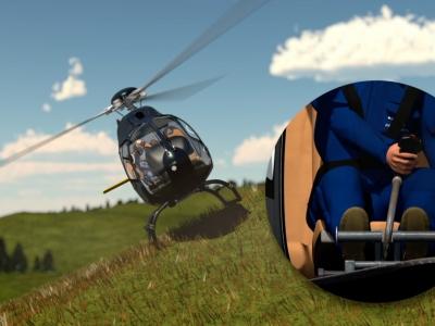 Erklärfilm / Hubschrauber – Dynamic Rollover