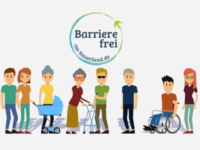 Erklärfilm / Barrierefrei im Sauerland